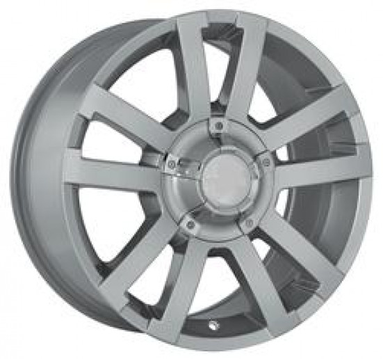 "17"" SILVER ALLOY WHEEL: D-MAX"