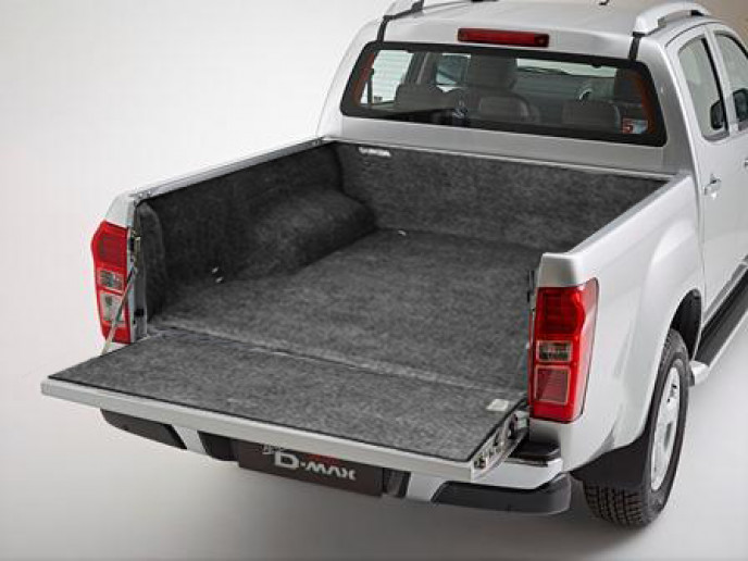 Isuzu D-Max 2012 on Double Cab BedRug Load Bed Liner