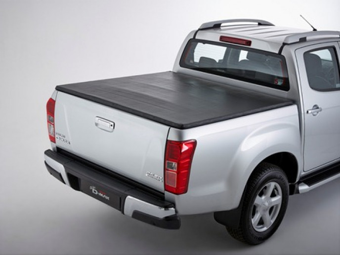 VINYL TONNEAU D-MAX EXT CAB