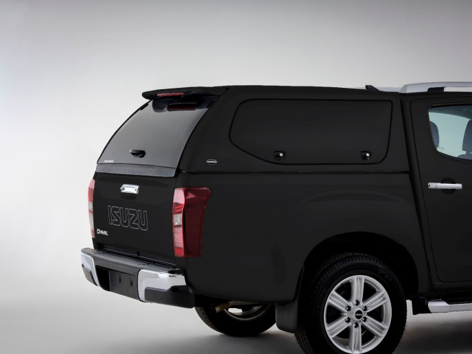 IACC3898-523 Truckman S SERIES Commercial Canopy Cosmic Black
