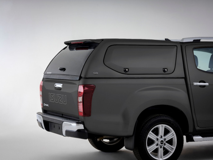 IACC3898-554 Truckman S SERIES Commercial Canopy Obsidian Grey