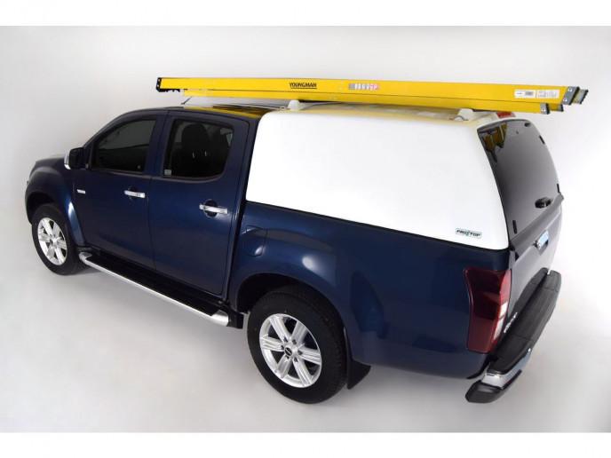 Isuzu D-Max double cab Pro//Top tradesman hard top