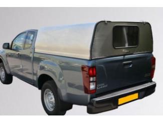 Extended Cab - Mesh Rear Door Aluminium Canopy