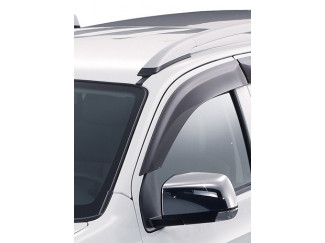 FRT DOOR VISOR SET D-MAX