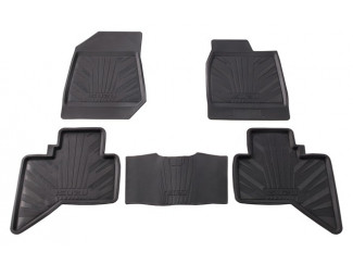 RUBBER TRAYS FRT & RR D-MAX