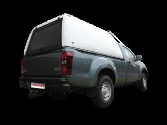 Truckman Classic 'Hi-Roof' Canopy - Gel Coat White