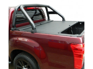 IACC2627BB -Black single hoop sports roll bar for Isuzu Dmax .