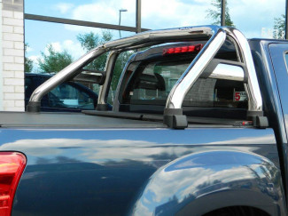 IACC2627SB -Stainless single hoop sports roll bar for Isuzu Dmax .