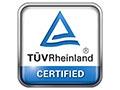 TUV Rheinland Certified